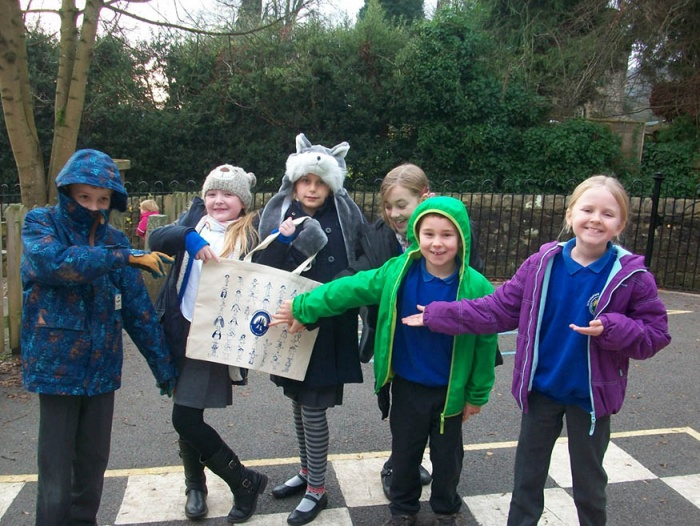 Grindleford Primary School Students