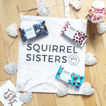 We are Nutty for the Squirrel Sister Bags!