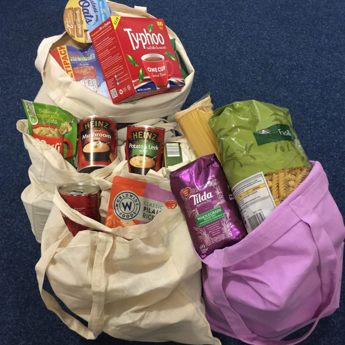 Donations to Trussell Trust Foodbank