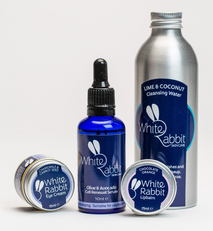 White Rabbit Skincare products