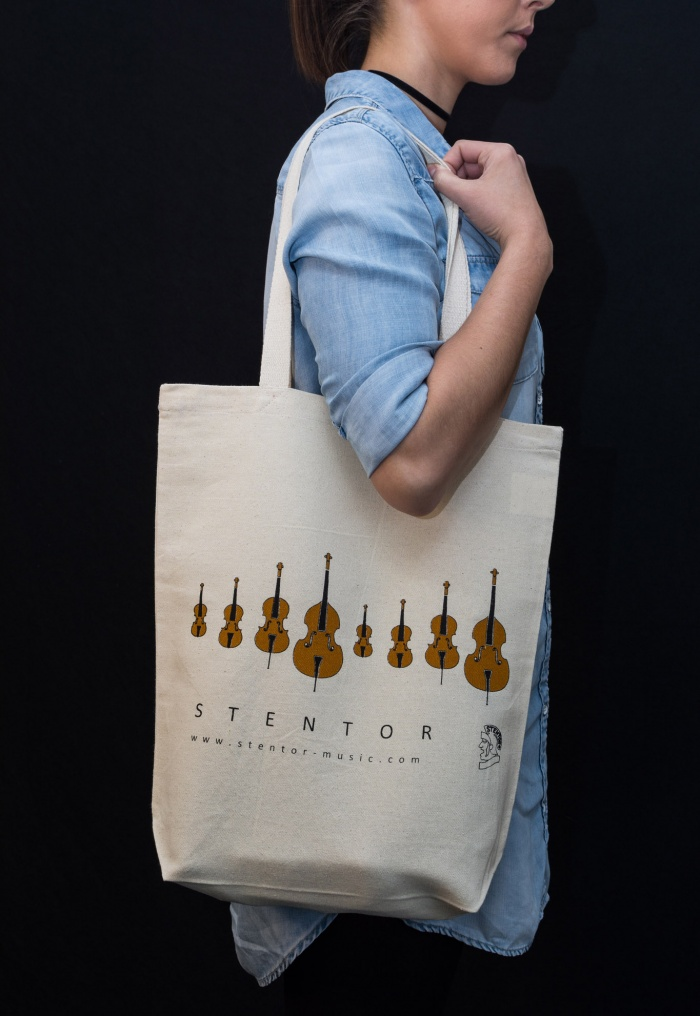 Stentor Music tote bag