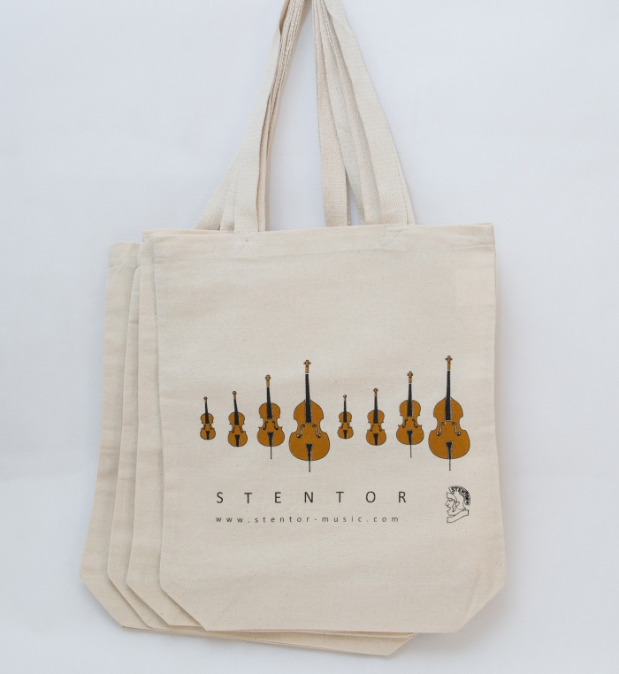 Stentor Music tote bags