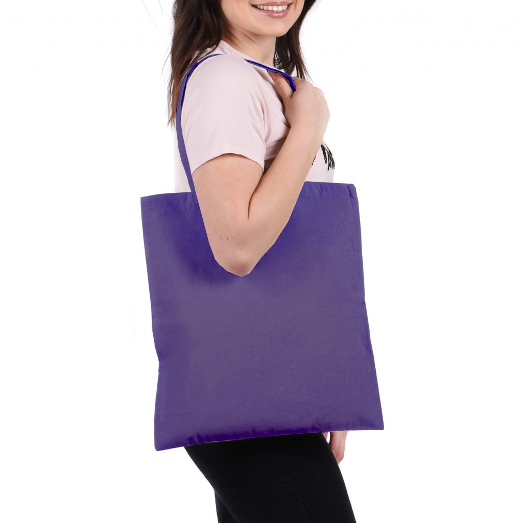 Grape Cotton Tote Bag