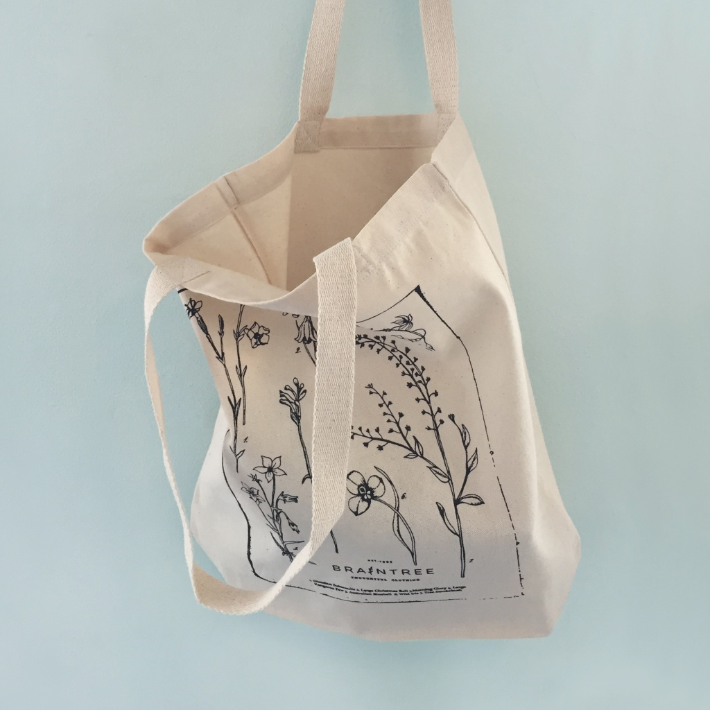 Luxury Shopper Bag | Braintree | Screen Print