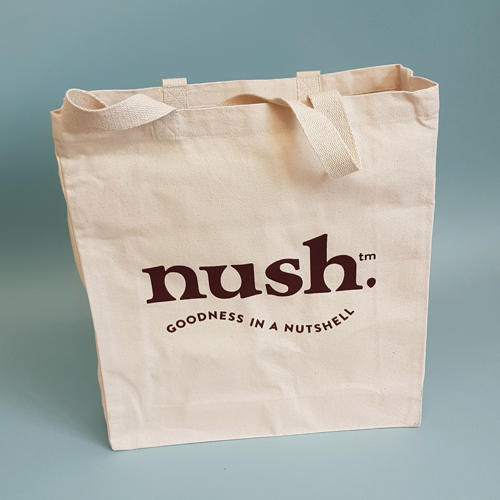 Luxury Shopper Bag | Nush | Screen Print