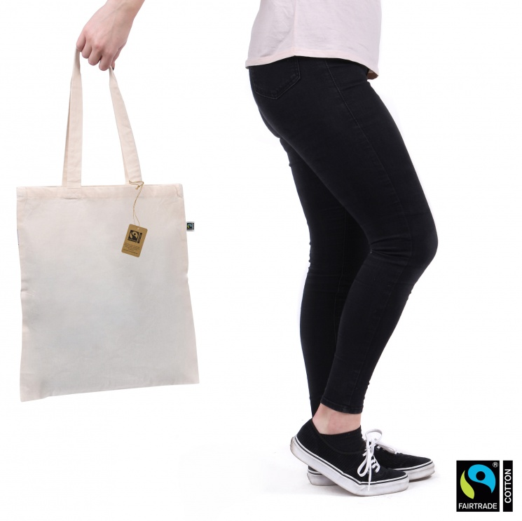 Premium Fairtrade & Organic Cotton Tote Bag