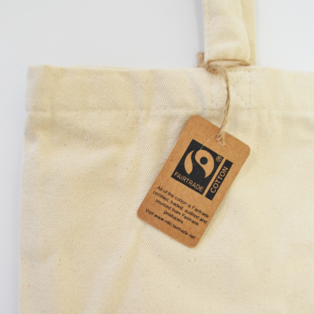 Fairtrade swing tag