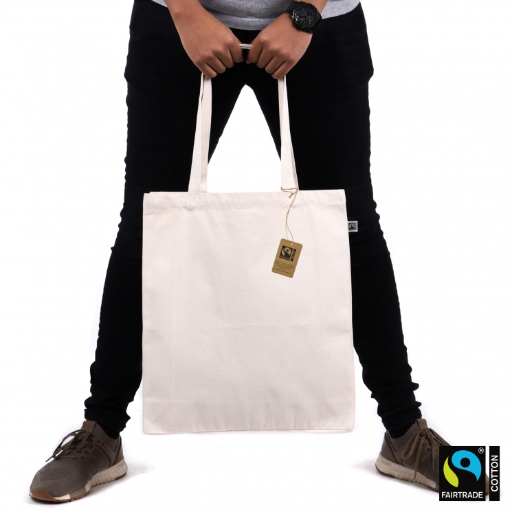 Premium Fairtrade & Organic Luxury Shopper Bag