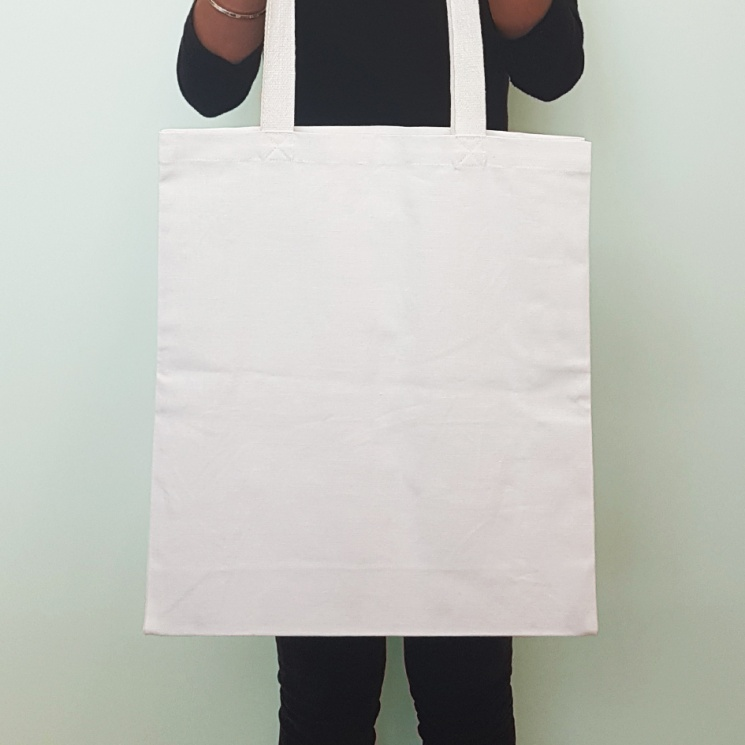 White Luxury Shopper Bag
