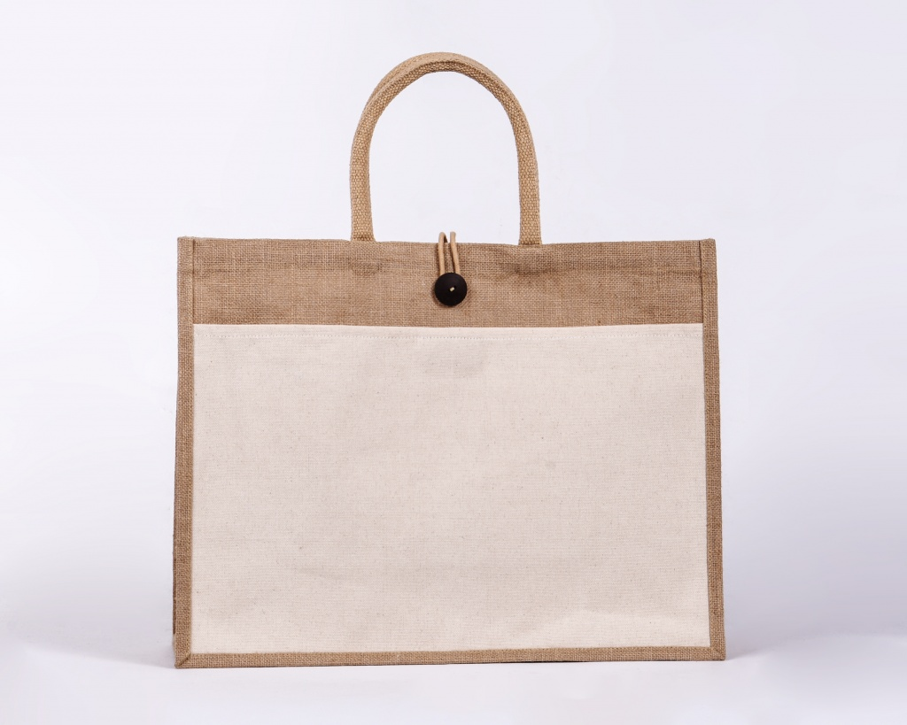Landscape Pocket Jute Bag