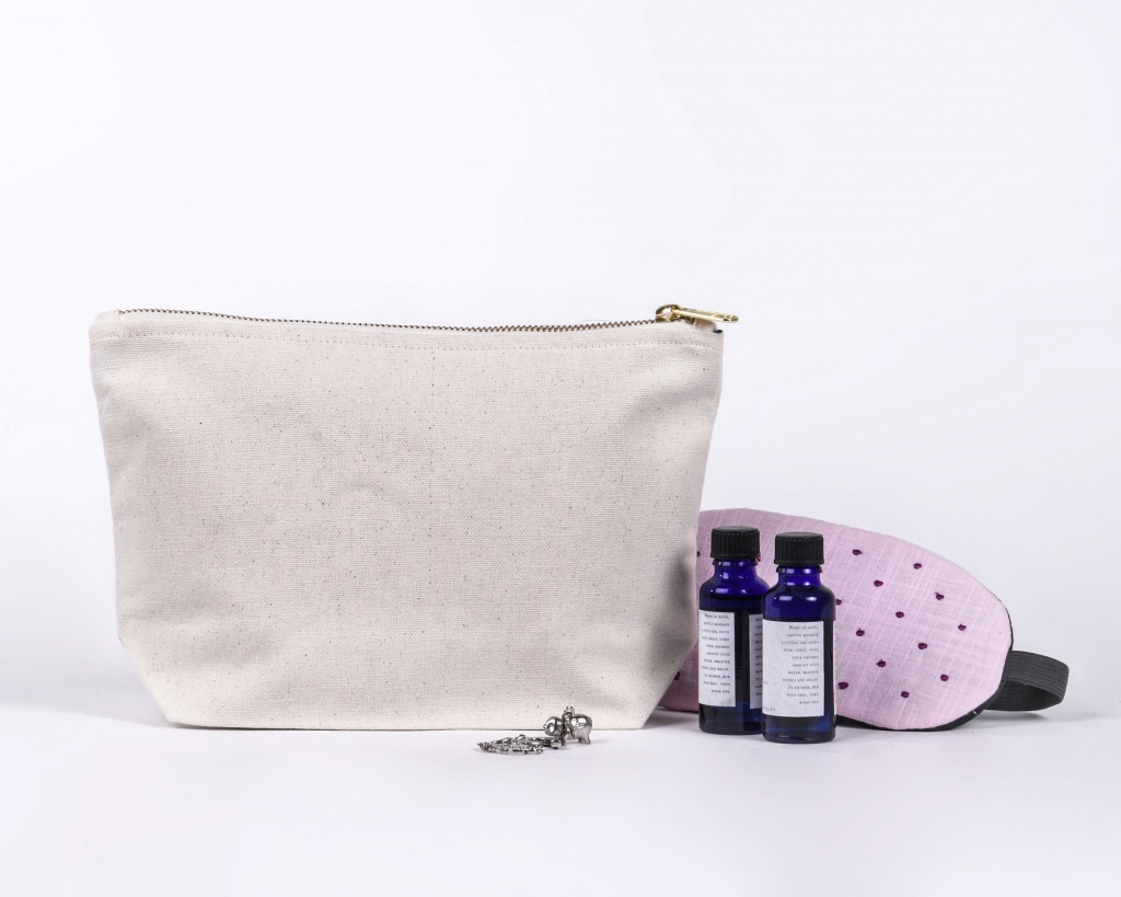 Lined Toiletry Bag
