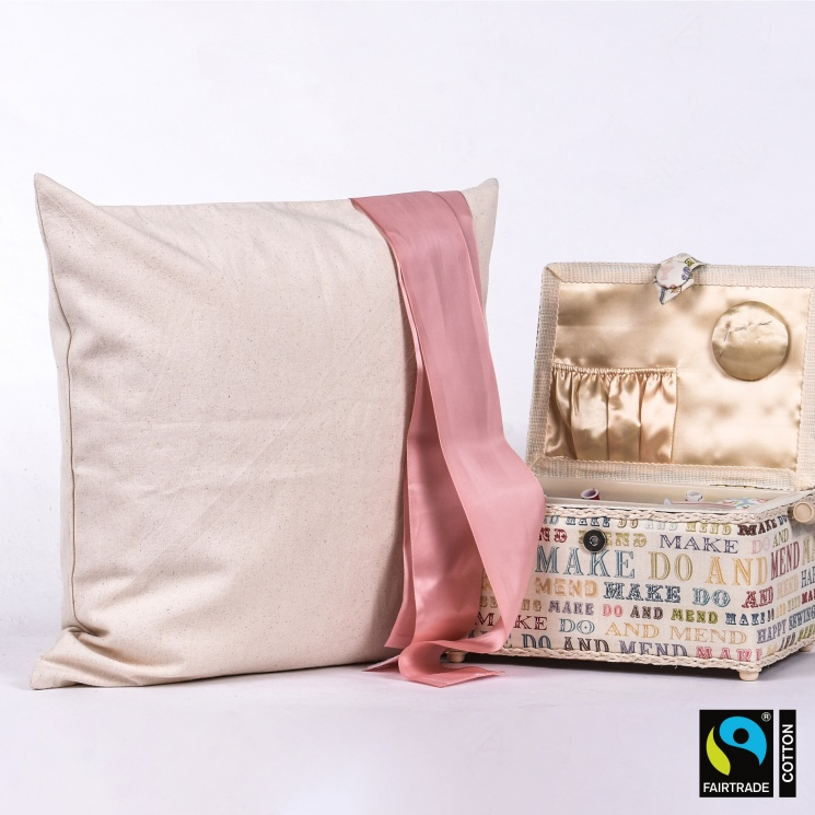 Fairtrade & Organic Square Cushion Cover