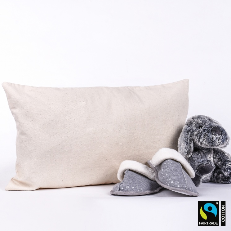 Fairtrade & GOTS Organic Rectangle Cushion Cover