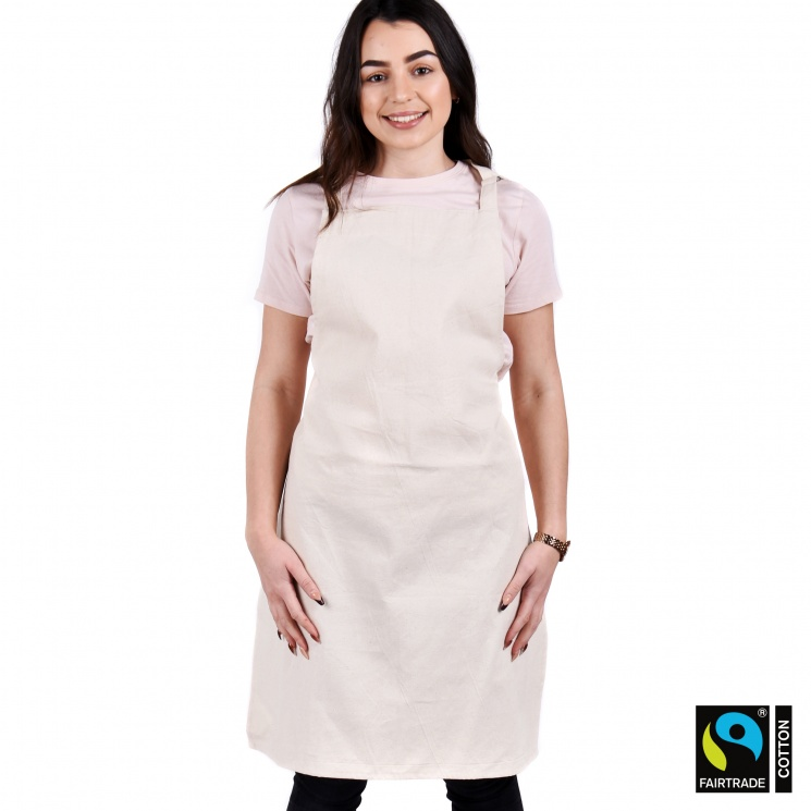 Fairtrade & GOTS Organic Adjustable Apron