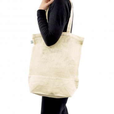 Fairtrade & GOTS Organic Mesh Shopper