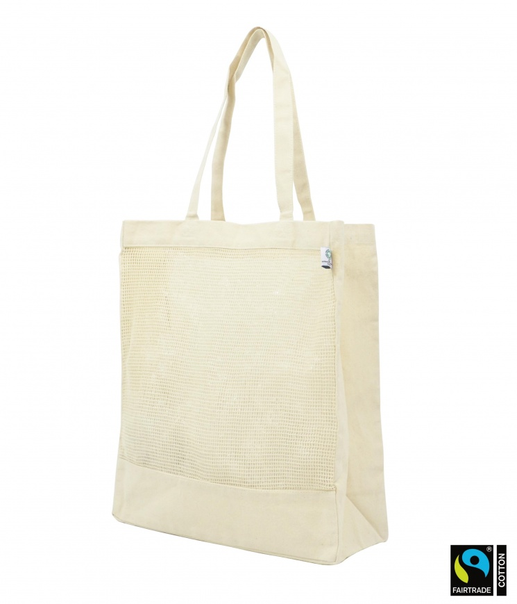 Fairtrade & GOTS Organic Luxury Mesh Shopper