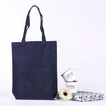 Denim Shopper Bag