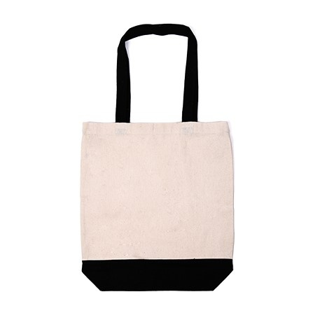 Contrast Shopper Bag