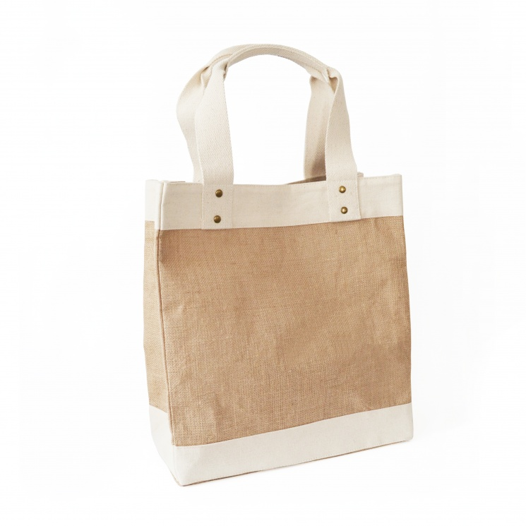 Small Premium Jute Shopper