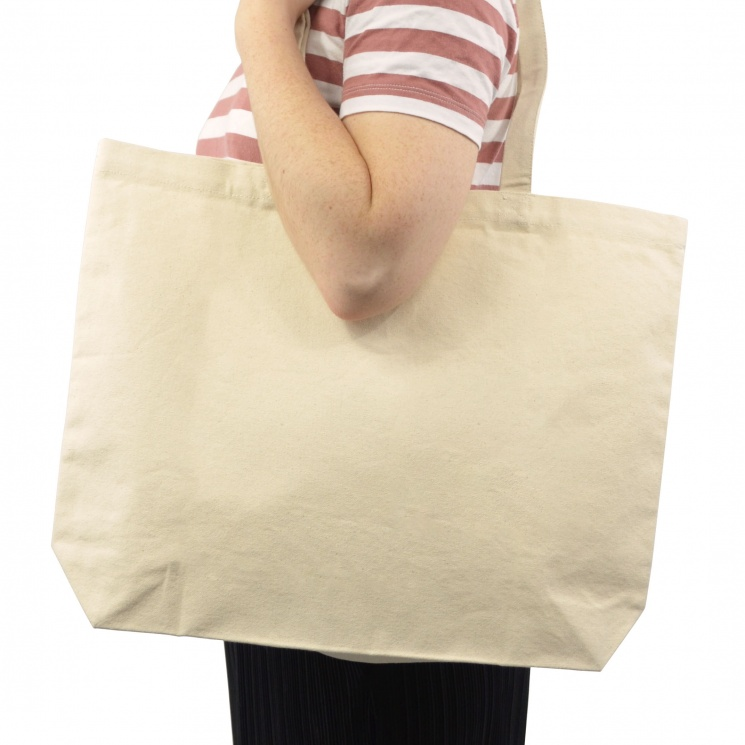 Premium Cotton Canvas Large Shopper Bag