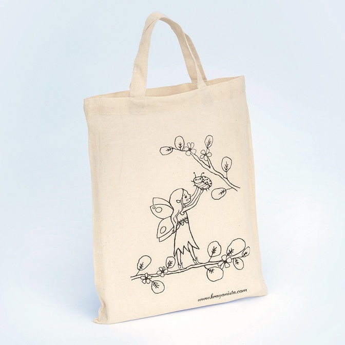 Small Cotton Bag | Krayonista | Screen Print