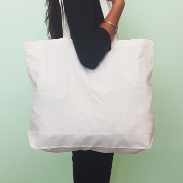 White Large Shopper Bag